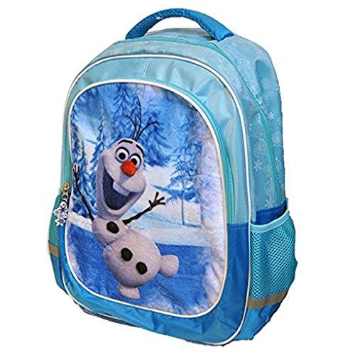 Sac à Dos OLAF 41 cm velours Frozen Reine des neiges