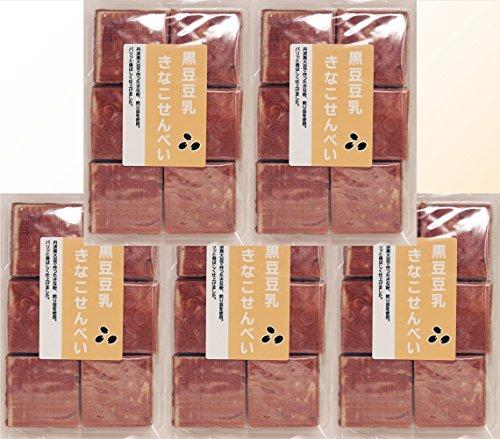 丹波の黒太郎 黒豆豆乳きなこせんべい 24枚入り×5袋
