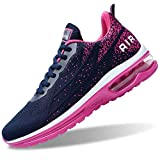 Air Shoes for Women Tennis Sports Athletic Workout Gym Running Sneakers - Purple - Size 11