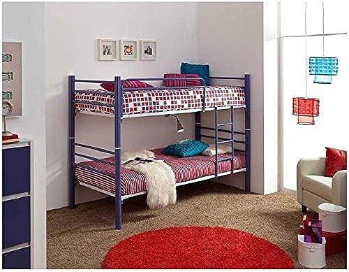 DECORACIóN BELTRáN Etagenbett aus Metall   Modell 410 (umwandelbar in 2 Betten) 90x190