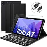 Sross Tastatur für Samsung Galaxy TAB A7, Samsung Galaxy TAB A7 10,4
