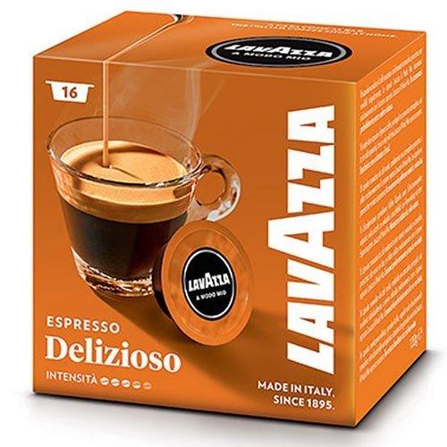 16 x Kaffeekapseln Lavazza A Modo Mio Deliziosamente