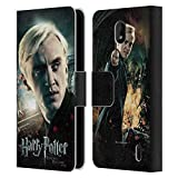 Head Case Designs Officiel Harry Potter Draco Malfoy Deathly Hallows VIII Coque en Cuir à...