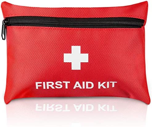TENQUAN Small First Aid Kit 100pcs Portable Compact Mini First Aid Kits for Camping Hiking Backpacking product image
