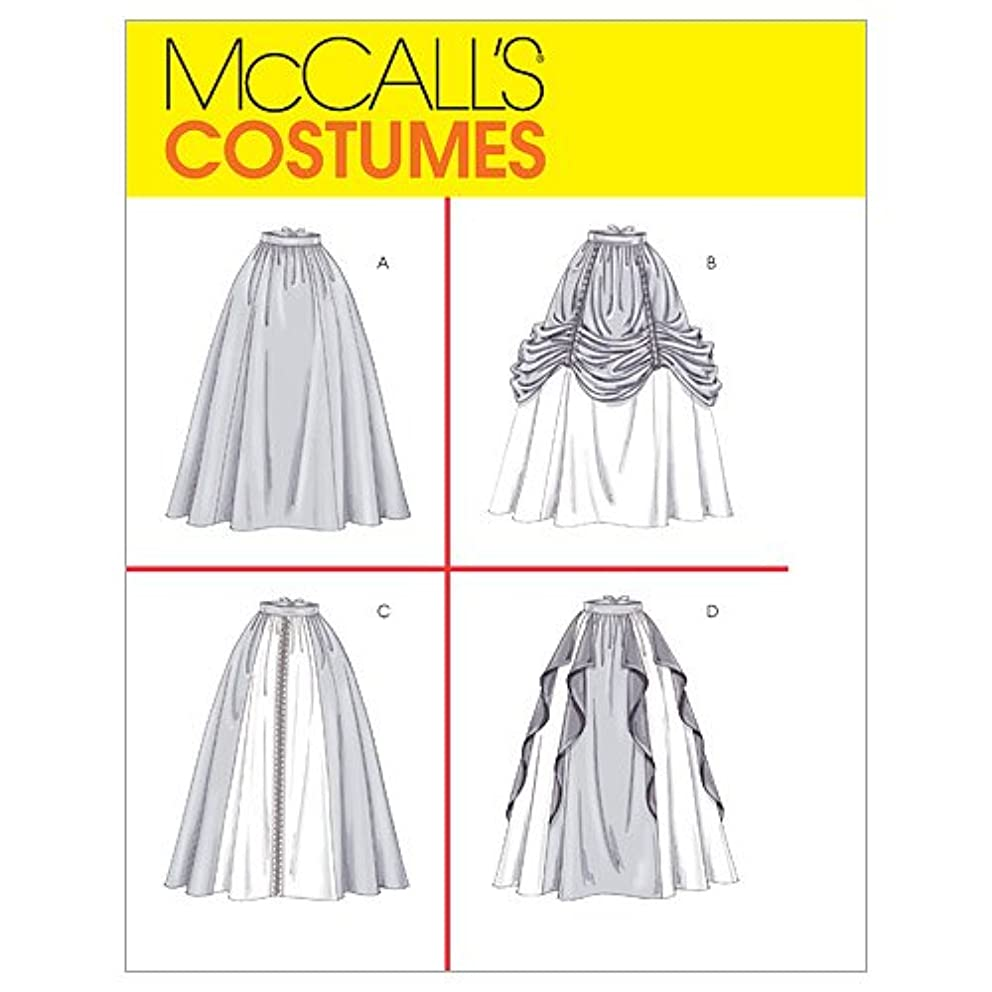 McCall's Patterns M4090 Misses' Renaissance Skirts, Size EE (14-16-18-20)