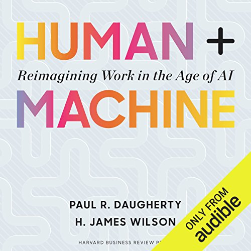 Human + Machine audiobook cover art