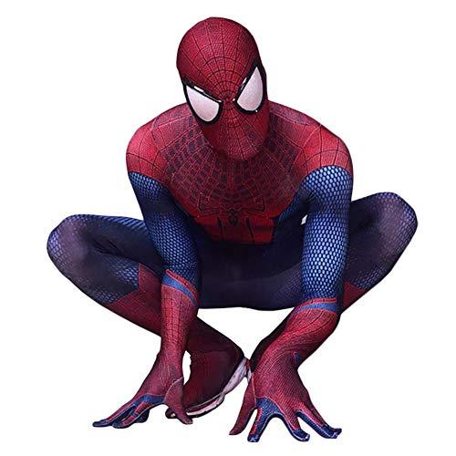 Doriscos Spiderman 3D Cosplay Kostüm Herren XL