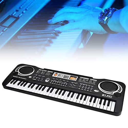 Presente románticoteclados piano Piano, Piano eléctrico de 61 teclas Piano eléctrico de...