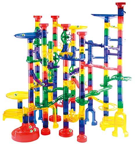 JOYIN Marble Run Premium Toy Set (207 Pcs), Construction Building Blocks Toys, STEM Educational...