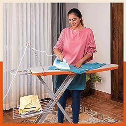 Bathla X-Pres Ace - Large Foldable Ironing Board with Aluminised Ironing Surface (Silver),Bathla Aluminium Pvt Ltd,BIBXPRESS001-3699