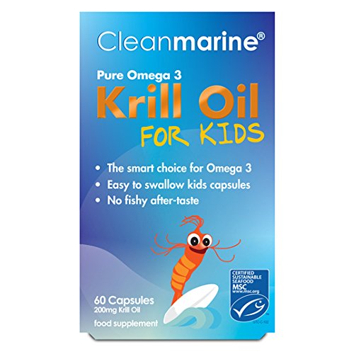 Cleanmarine for Kids 200mg Gelcaps 60 per pack