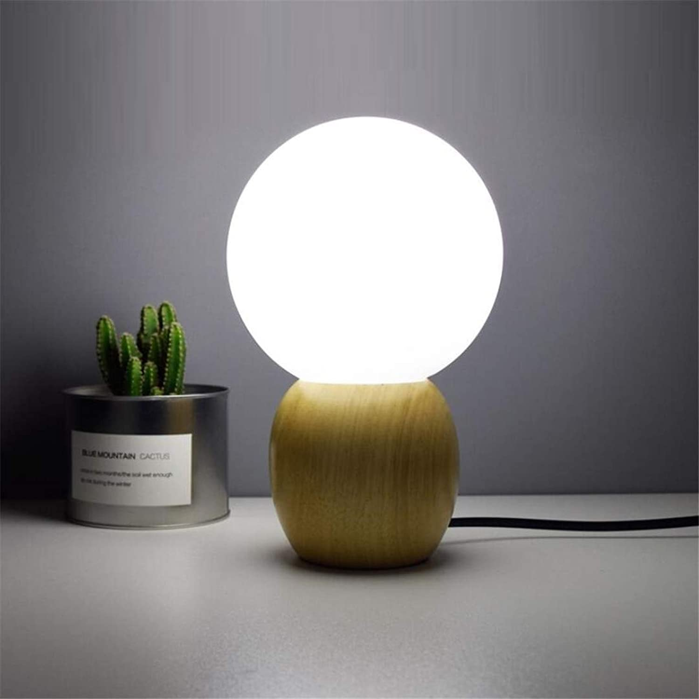Nachtlichtschlafzimmer Tischlampe Nachtlicht Mini Nordic Einfache Kreative Massivholz Plug-In Energiesparende Warmes Licht Baby Nachttischlampe Fütterung B07KGFHVCH | Sehr gute Qualität