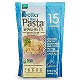 Better Than Pasta. Certified Organic. Zero Carb, Keto Friendly, Vegan, Gluten-Free, Non-GMO, Konjac Shirataki Spaghetti Noodles 14 Ounces (6 Pack)…