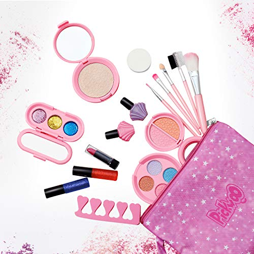 Set de maquillaje Kids para niñas, Kit de cosméticos lavables reales Juego...