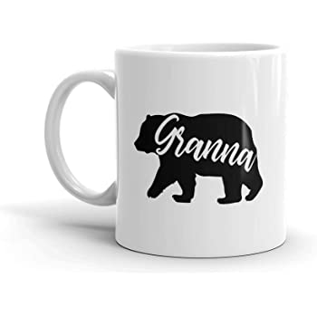 Cup /— Birthday Mothers Day Christmas Gift For Mom Mother Grandma Fun-Mug.com Only The Best Moms Get Promoted To Granna Unique Ceramic Coffee Mug 11 oz.