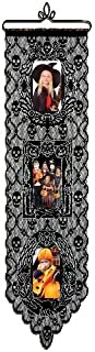 Heritage Lace Halloween 12-Inch by 38-Inch Spooky Pictures Wall Hanging, Black
