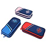 Large Capacity Pencil Case,Uhans Pencil Pouch with Double Zipper and 100% Polyester Sturdy Material,Pencil Box for Kids Can Be Multi Used in School and Office Makeup Bag