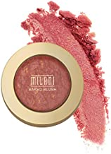 Milani Baked Blush - Red Vino (0.12 Ounce) Cruelty-Free Powder Blush - Shape, Contour & Highlight Face for a Shimmery or Matte Finish