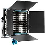 Neewer Video Luce LED Bicolore 3200-5600K CRI 96+ Metallo per Studio Youtube Foto di Prodo...