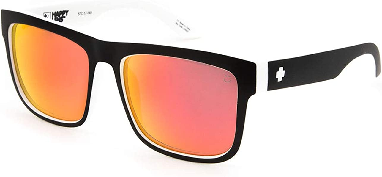 SPY Optic Discord, Square Sunglasses, Color and Contrast Enhancing Lenses