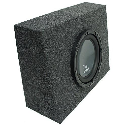 "Harmony Audio Compatible with Universal Regular Standard Cab Truck HA-R104 Single 10"" Sub Box Enclosure"
