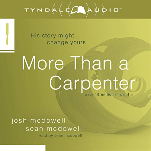 More Than a Carpenter  By  cover art
