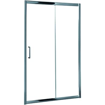 Roca AM13611012 - Mampara de ducha con una puerta corredera y un segmento fijo. para instalar entre paredes o con un lateral fijo lf.: Amazon.es: Bricolaje y herramientas