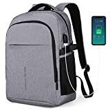 Mark ryden mochila para portátil mochila de negocios impermeable para hombre mochila escolares con puerto de usb para ordenador 17,3/15. 6 pulgadas viajes trabajo