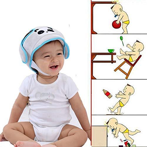 Casco de seguridad para bebé infantil de corta edad con protección de seguridad para niños de 6 meses con tapa de 6 años de edad.