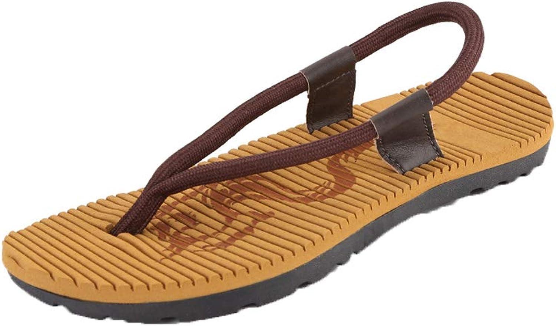Men's Leisure Sandals Flip Non-slip Wear resistant Beach shoes Lightweight Cozy Soft Open toe shoes