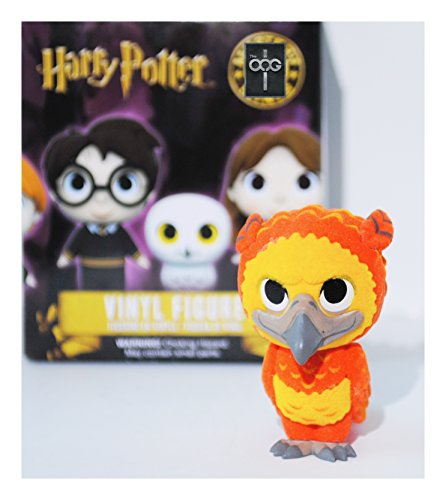 Funko Mini Mystery - Harry Potter Series - Fawkes [Flocked] 1/36 Rarity - Barnes and Nobles Exclusive [EXTREMELY RARE]