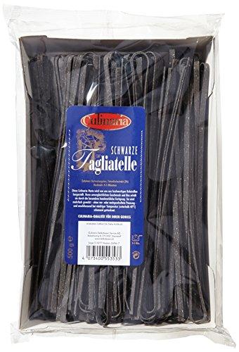 Culinaria Schwarze Tagliatelle, 5er Pack (5 x 500 g)
