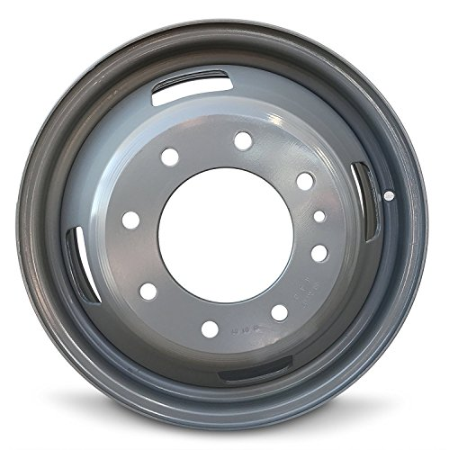 Road Ready Car Wheel For 2005-2016 Ford F350SD 17 Inch 8 Lug Gray Steel Rim Fits R17 Tire - Exact OEM Replacement - Full-Size Spare