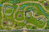 Parque de dinosaurio alfombra infantil de juego | SM07 | De buena calidad para...