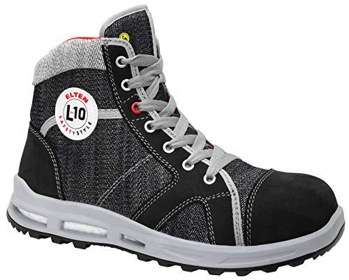 ELTEN Sensation XXT Mid ESD S2, Sneaker di Sicurezza Unisex-Adulto, Grigio (Grau 3), 47 EU