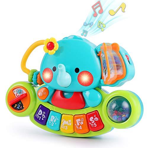 13. iPlay, iLearn Baby Music Elephant Toy