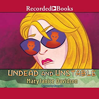 Undead and Unstable audiobook cover art