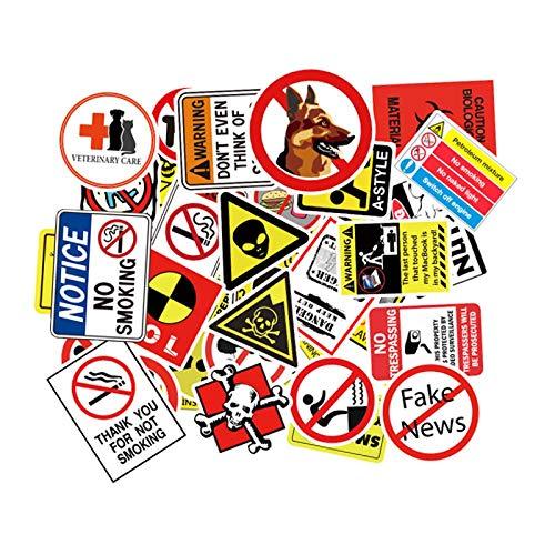 Wawale Graffiti-stickers, waterdicht, voor het versieren van computers, voor auto's (50 foto's)