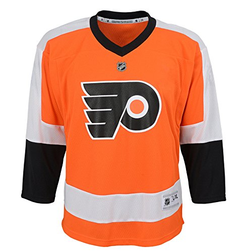 Outerstuff Youth NHL Replica Home-Team Jersey Philadelphia Flyers, Special Orange/Black, Large (12-14)