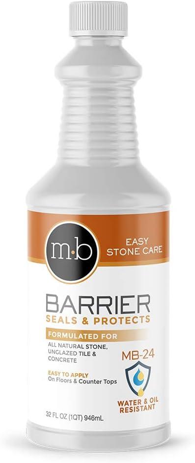 MB Stone Care - MB-24 Barrier free Sealer 32 Quart Max 70% OFF 1 Impregnating