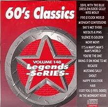 LEGENDS #148 60'S CLASSICS Karaoke CD+G Disk 17 Songs
