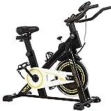 RR-YRF Cubierta Bicicleta Estacionaria Ejercicio, Bicicleta De Spinning, Bicicleta Magnetrón con Pantalla LCD, Familiares Ejercicio Aeróbico Equipo De Entrenamiento