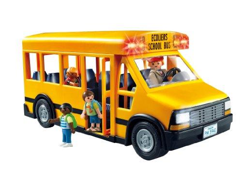 Ensemble Autobus Transport Scolaire École Playmobil - 5680 Écoliers - 2