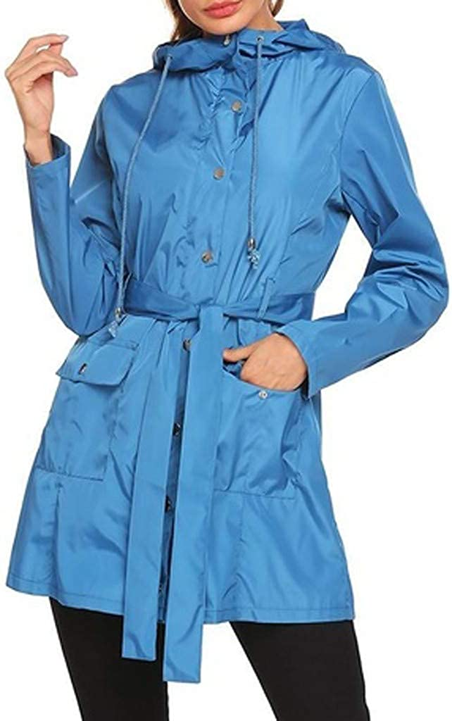 Astrid Womens Waterproof Sun Protection Outdoor Mountaineering Clothing Punching Coat