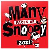 ERIK - Calendario de pared 2021 Snoopy, 30x30 cm