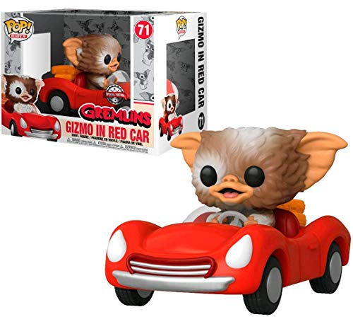 Funko POP! Rides: Gremlins - Gizmo in Red Car #71 Exclusive
