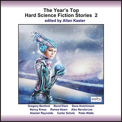 The Year's Top Hard Science Fiction Stories 2 audiobook cover art