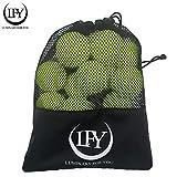 LUMINARY FOR YOU Tennisbälle 15 Stück inklusive Mesh-Tragetasche Tennisbälle perfekt