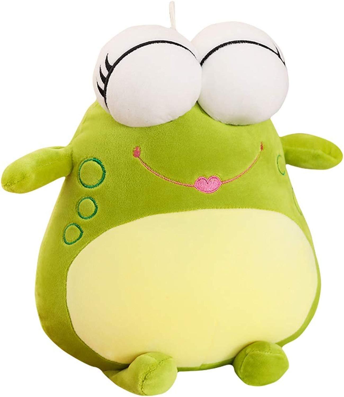 Giocattoli di Peluche Bambole Rana Simpatiche Bambole di Cuscini Cuscini Regali Decorazioni (Coloree   verde, Dimensione   60  45cm)