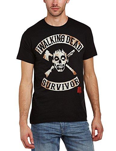 The Walking Dead Zombie Survivor - T-Shirt - Schwarz, Gr.M